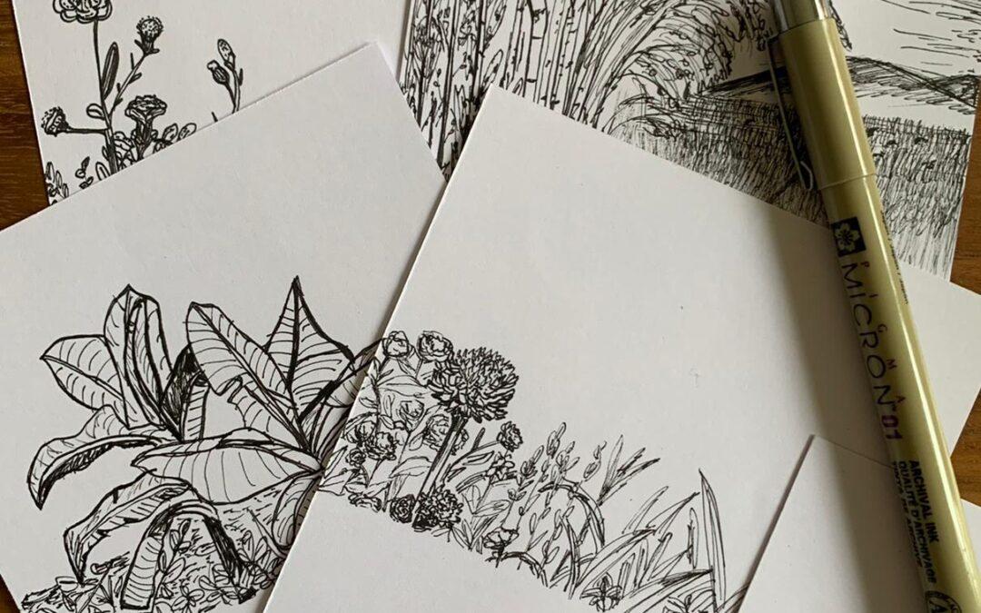 Hand-Drawn Card